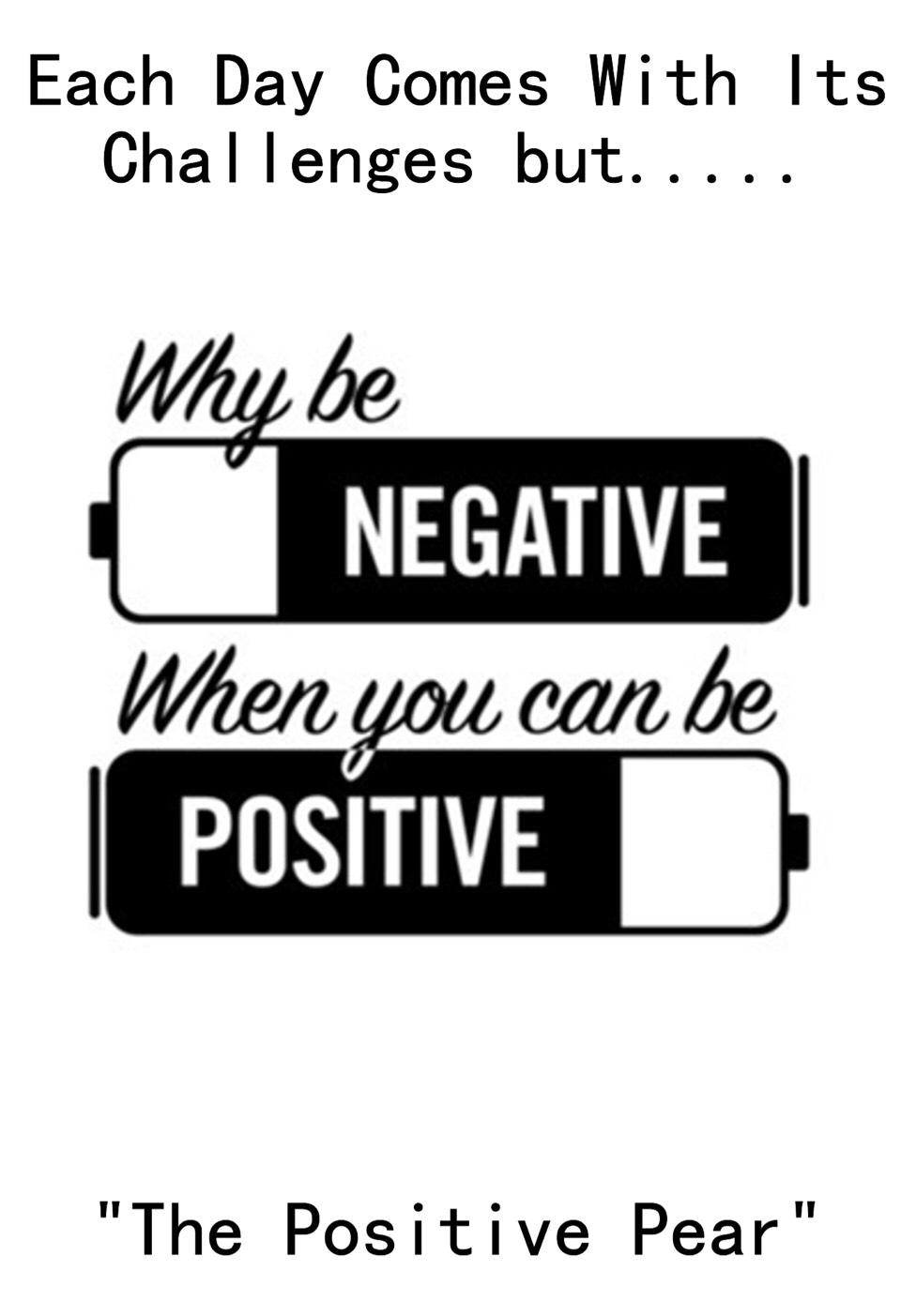 Be positive. Would you think someone was beautiful if they keep thinking that they are ugly and they are always mad and mopey? Be happy! 😜
