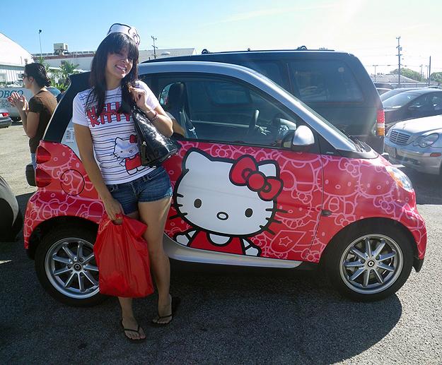 Hello Kitty wrap
