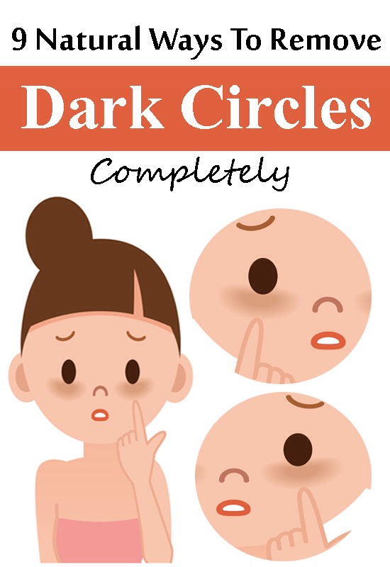 9 Natural Ways To Remove Dark Circles Knowing how to get rid of dark circles fast and overnight can help your eyes look brighter. Dark circles under eyes make you look tired, dull, old and bored. Here's how to remove dark circles under eyes overnight, with options including natural and home remedies for dark circles under eyes, makeup and lightening remedies for dark lines below your eyes. You can also remove dark eye circles without makeup and using surgery especially if they are hereditary.