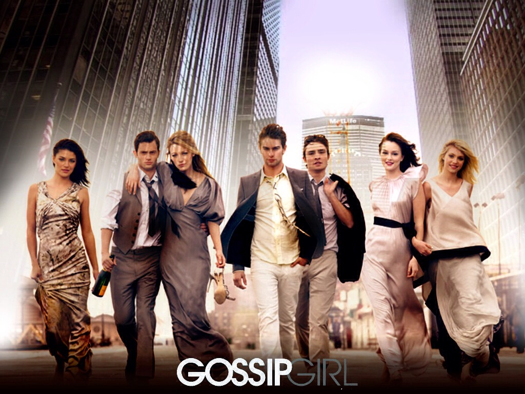 Gossip Girl! If you love drama then this is the show for you 🎀also have awesome sense of style