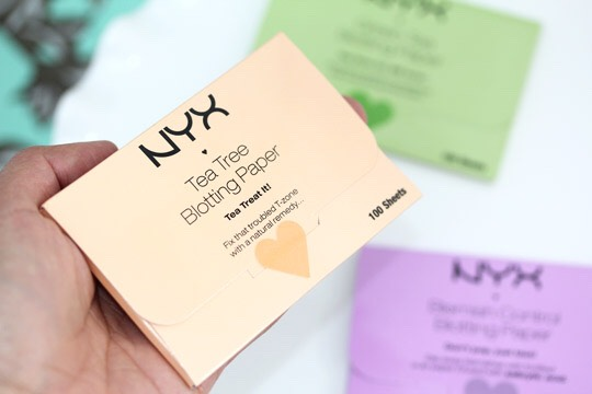 Blotting papers- come very handly most of the times. Specially on summer days!