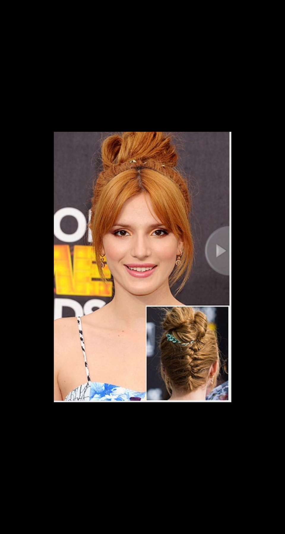 SURPRISE BRAIDS From one angle, Anna Kendrick appears to be sporting your average pony and Bella Thorne's hairstyle looks like a basic messy bun, but a 360º view reveals plaits in unconventional places.