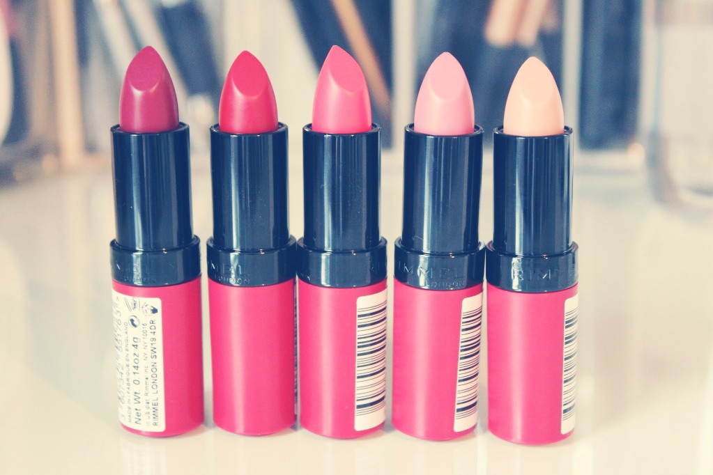 The Kate Moss matte lipstick collection, is amazing, so pigmented, stays put for ages and are such pretty colours :)