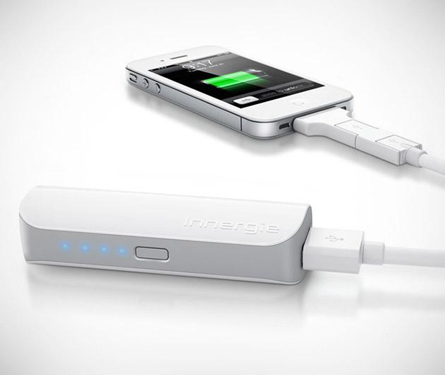 Portable cell phone charger With one of these, he can charge his phone on the go! This inexpensive gift can also be kept in the car in case of an emergency. Definitely a must-have!