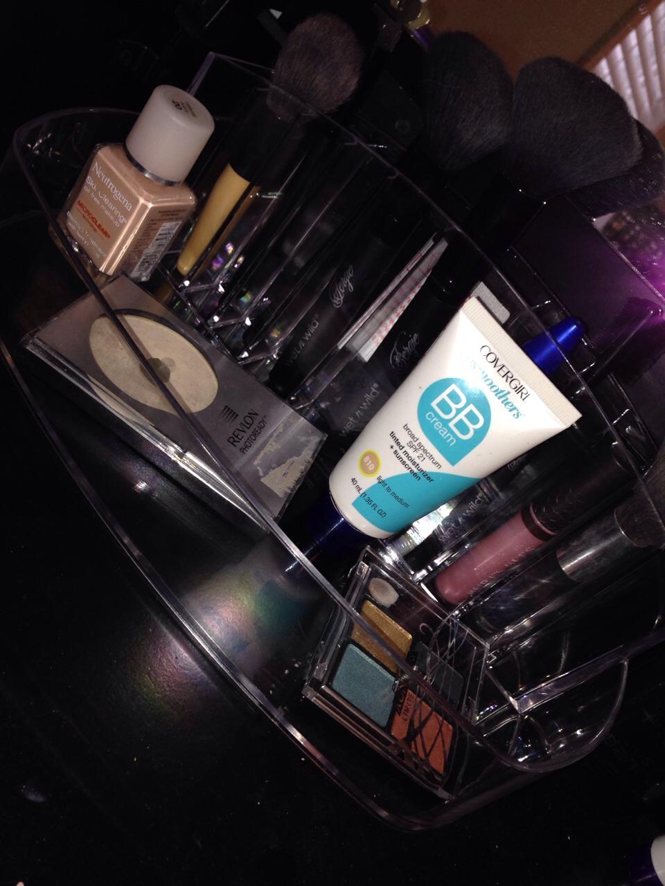 1• get makeup organizer I got this at target