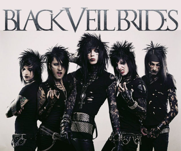 Black veil brides. 🙈