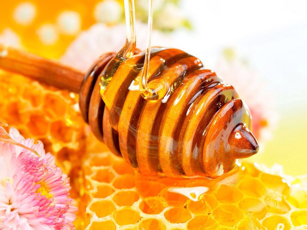 Honey helps soften and smooth your hair also brings back shine