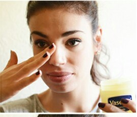 Apply a thick coat of Vaseline to the area that needs to be treated tocreate a temporary seal, trapping the heat in the skin.