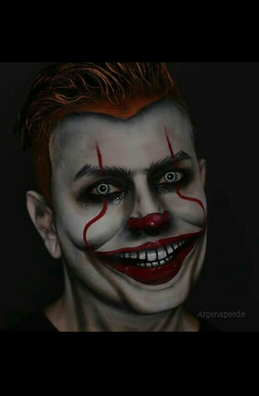 Halloween Makeup Looks For Guys.Halloween Makeup For Guys By Georgette Musely