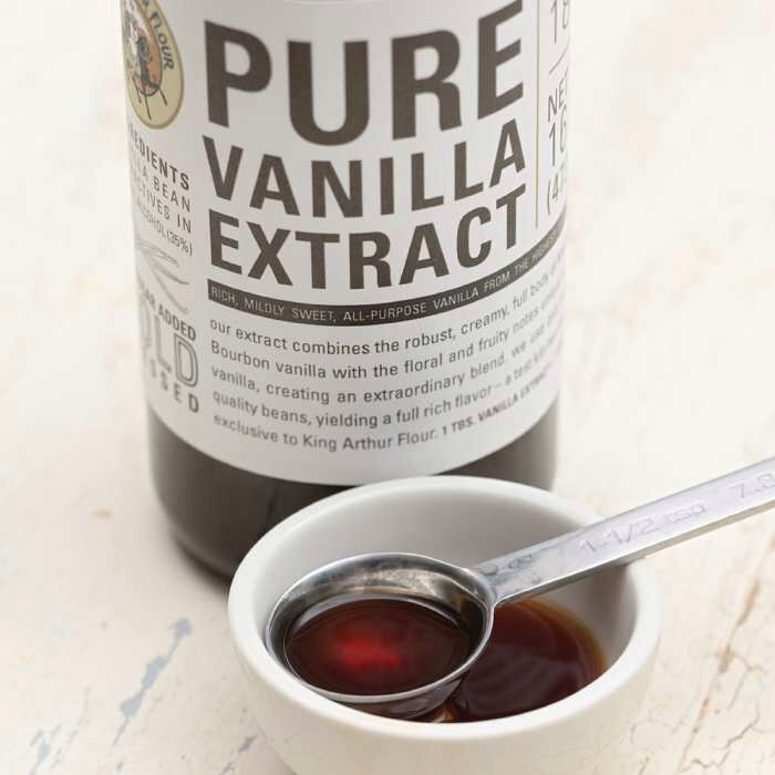1. Vanilla Extract - just a teaspoon or two of vanilla extract will add richness to the cake
