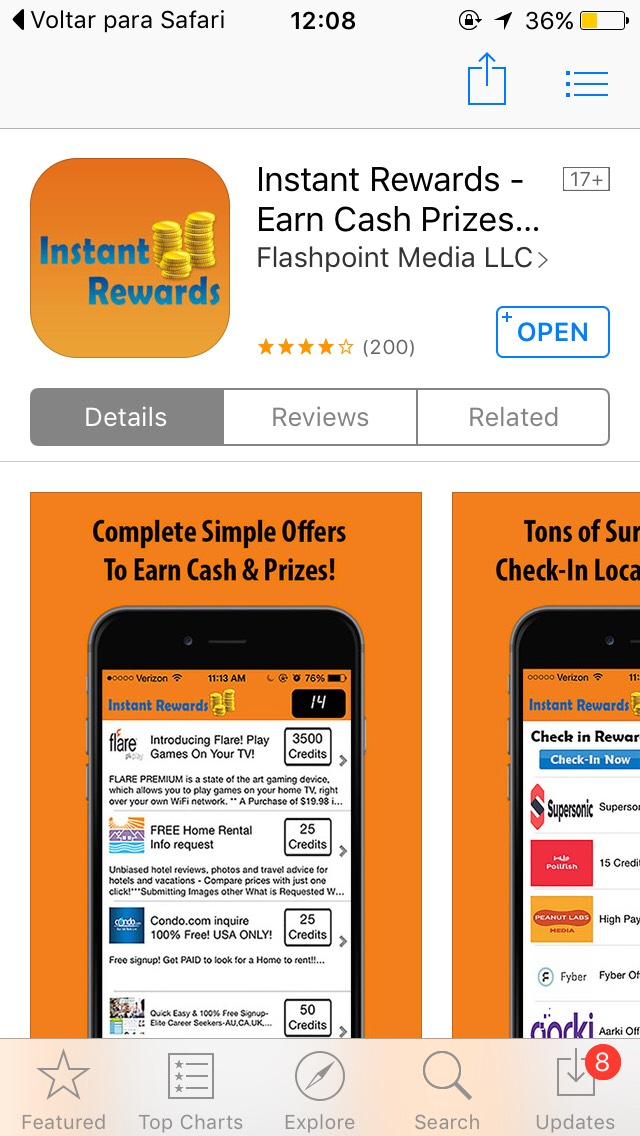 I like this app because I make very fast money and can redeem for gift cards!