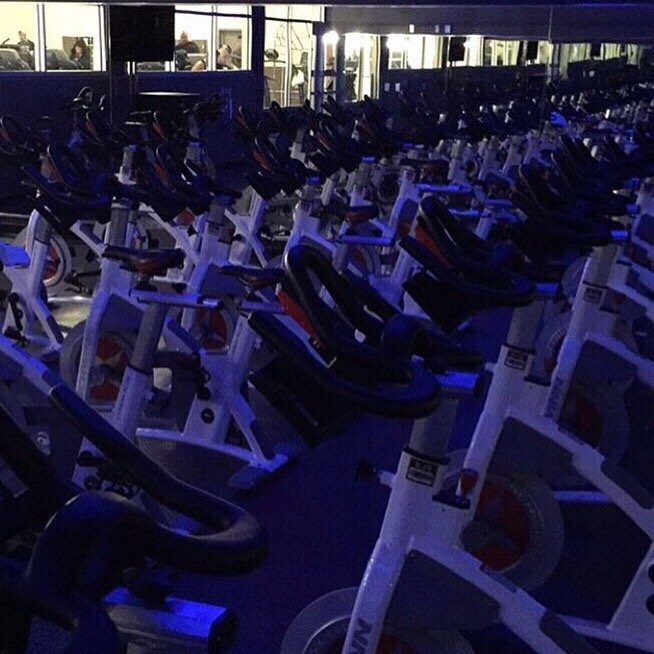 1. Get to the class 15-20 minutes early to talk to the instructor  I go to 24 hour fitness and this is actually the room in the picture. But when I first went I got there before everyone else so I could have a one on one conversation. She helped me set up my bike and walked me through what to expect