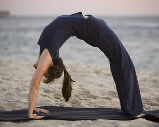 This is a backbend here are different ways to do so