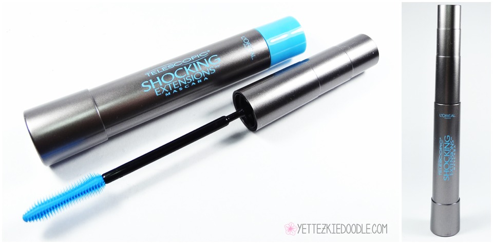 MASCARA: such a nice mascara I like waterproof mascaras because they don't smudge theirs is also just a regular version too.
