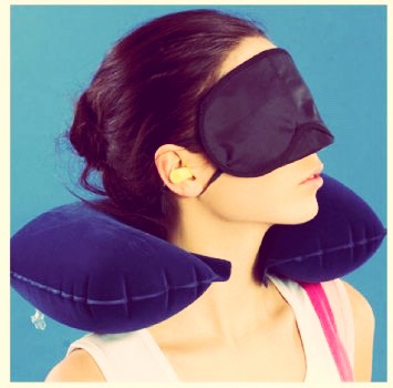 Head rests for them longer tiring journeys in a plane , car , train or bus