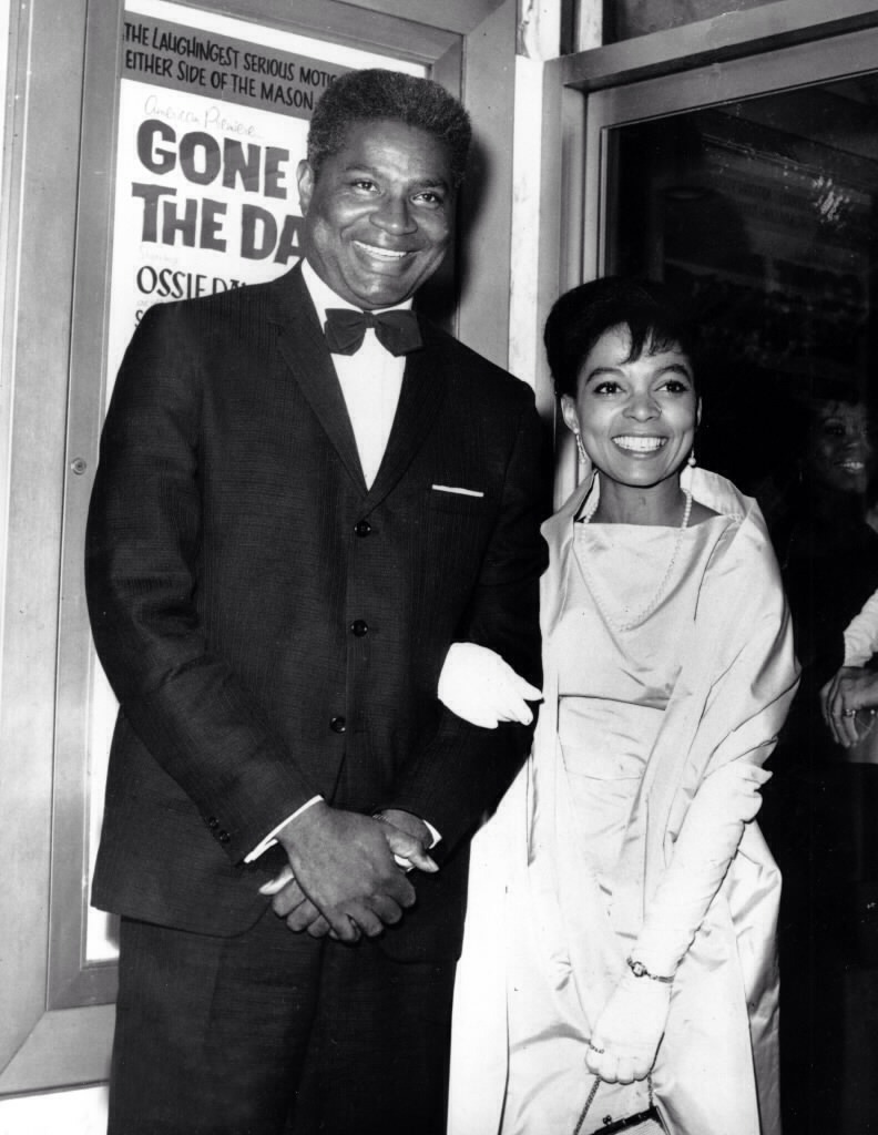 Ruby Dee and husband, another Film Icon, Ossie Davis