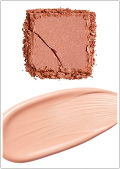 """""""Itend to layer mineto create the perfect glow. My favourite cream highlighter isM.A.C. Cream Color Base-Hush +my favourite powder highlighter is Charlotte Tilbury FilmStar Bronze & Glow ($97, www.charlottetilbury.com/au).""""  (bh note:This is also Eloise's favourite powder highlighter.) -Tobi"""