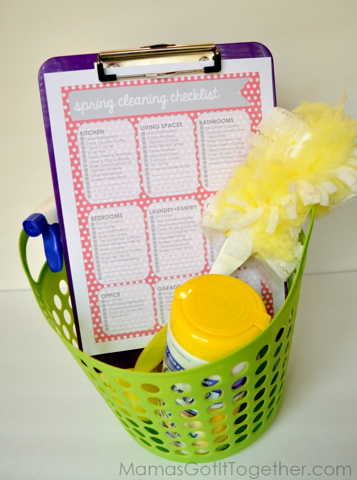 Spring Cleaning Checklist from Mama's Got It Together
