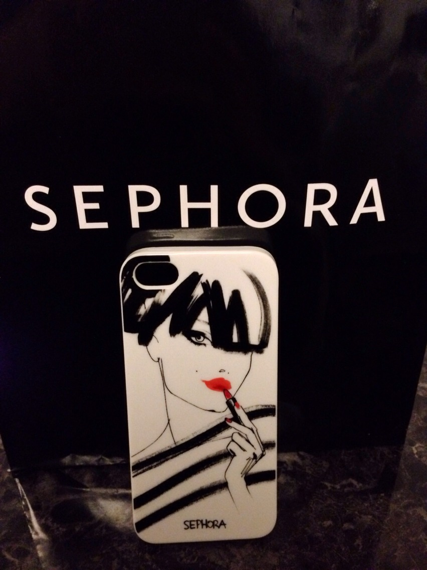 This is an iPhone case they have presently as a gift reward when you exchange 250 points!