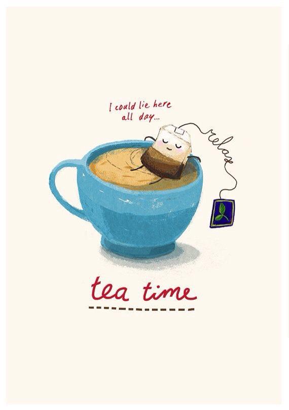 Tea Time!!! ☕️☕️☕️☕️