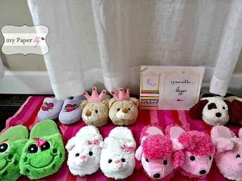 30. When the fun is over hand out dollar store fuzzy slippers for all!