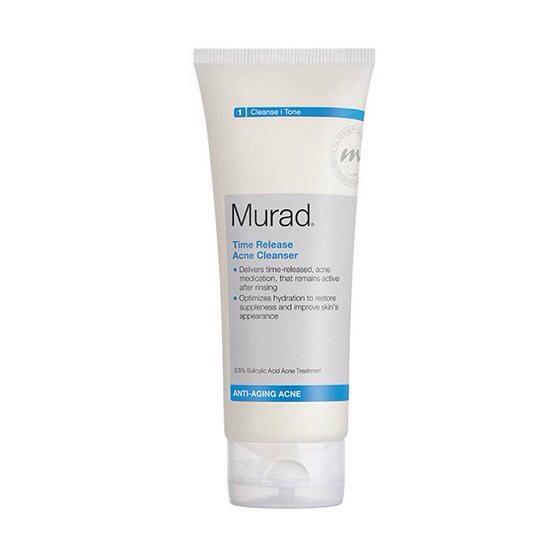 Murad Time Release Acne Cleanser, $32; murad.com