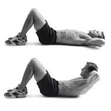 Do 200 a day for a fast toning core in any position you want!