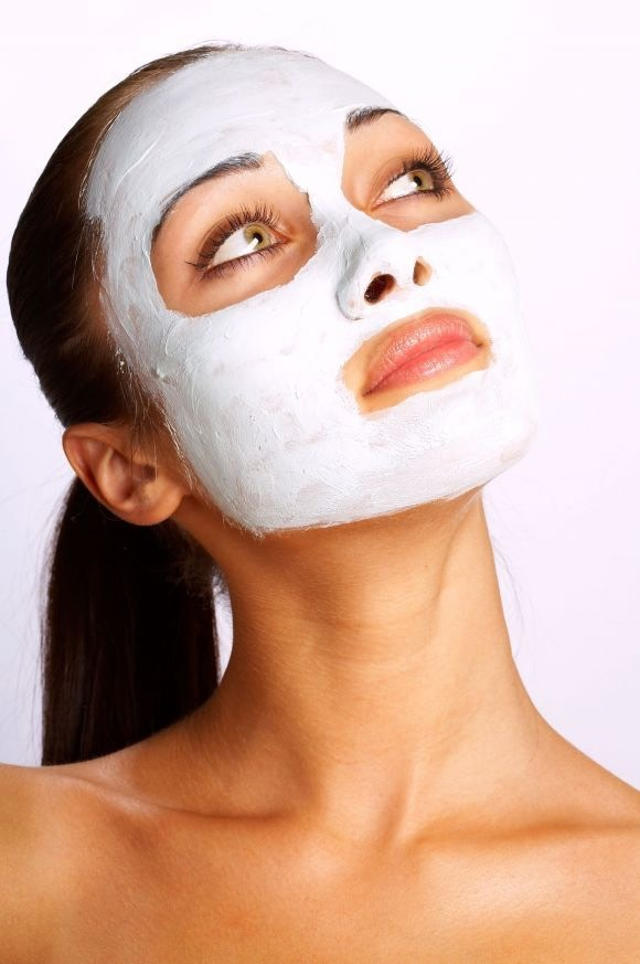 You should spread mixture over entire face and let sit up to 20-30 minuets