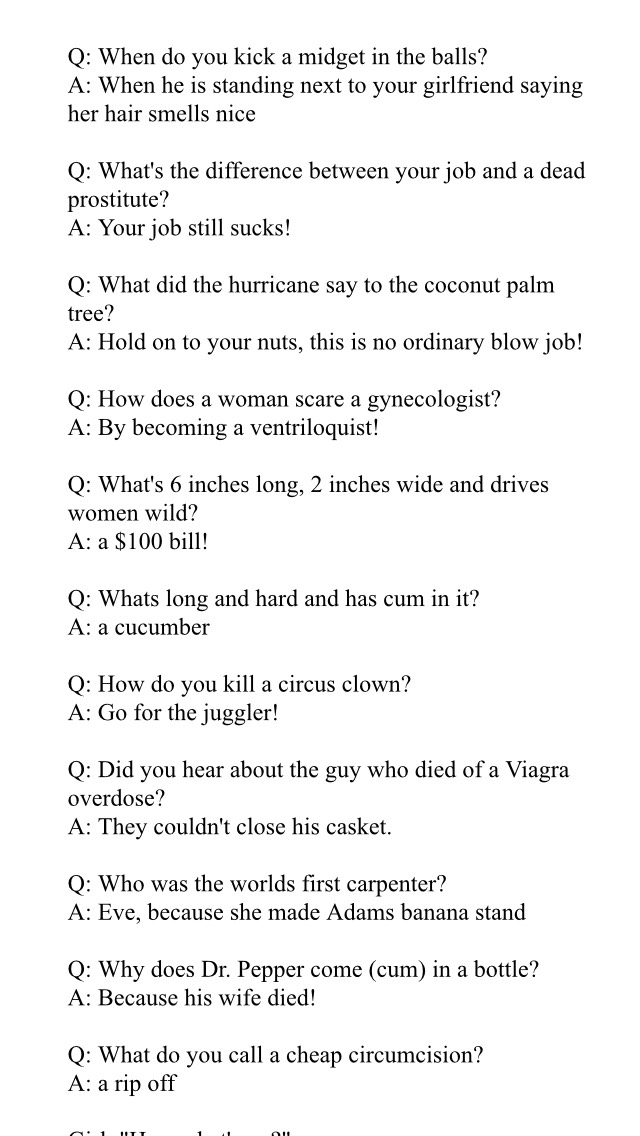 Need A  Good Joke? Well Here Some Funny Ones