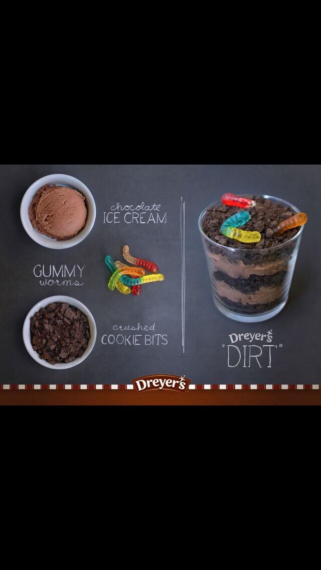 I would use Oreos :)