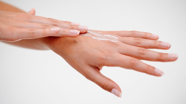 Sometimes it doesn't  help with the warmth of the water, sometimes hands don't want to be wet, that's the sense of sensitive hands. So put your lotion on without any wet sources. Let the lotion dry and keep doing it for a couple of weeks, after that it should be as smooth as a fluffy blanket!☺️