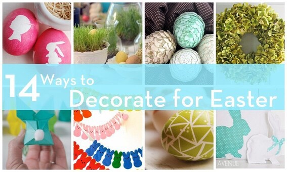 DIY Easter decorations and nail designs 🐣