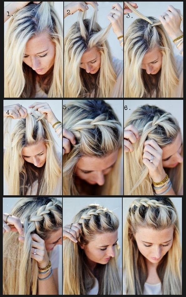 Cute French Braid Hairstyle By Fernie Lovee Musely
