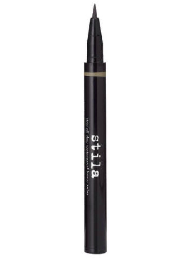 This smear proof brow color won't come off till you take it off. It has a soft color with it's fine tip. $21
