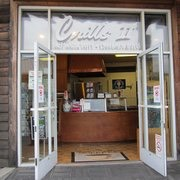 Last but not least, prepare to get the most delicious cinnamon roll ever at Crill's II at 903 Embarcadero.