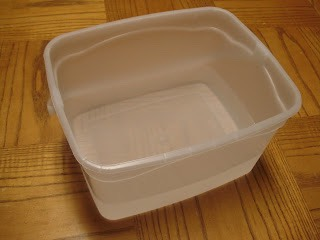 Place your hands in a tub of hot water for 10 to 15 minutes.
