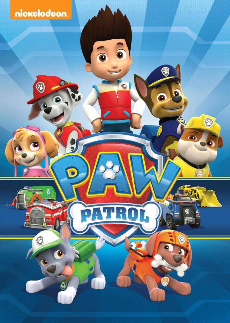 5. Paw Patrol  In Adventure Bay, these 6 adorable pups and their leader, Ryder will teach the children the value of teamwork and how to work together. This also brings out the importance of good citizenship and problem solving skills!