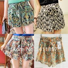 loose shorts are really being used. they are comfortable and fresh