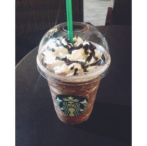 ferroro rocher frappuccino: •Double Chocolate Chip Frappuccino or Java Chip Frappuccino if preferred •Add Mocha Syrup (2 pumps for a tall, 3 for a grande, 3.5 for a venti) •Add Hazelnut Syrup ( 1 pump for a tall, 1.5 for a grande, 2 for a venti) •Add Hazelnut drizzle •Top with whipped cream