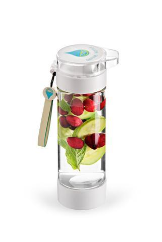 Clear water bottle (you can infuse your drink with fruit or bring an empty bottle to fill it up at school)