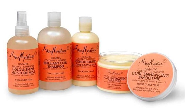 Shae Moisture products! I recommend using the curl enhancing smoothie🎉