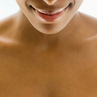 CHEST TEST FOR BRONZER: Avoid a code orange over-bronzing by using the color of your chest as a guide. The key is thinking about your skin's undertones and how you tan. Since your chest is typically a more even tone than your face, you can use this as a starting point.