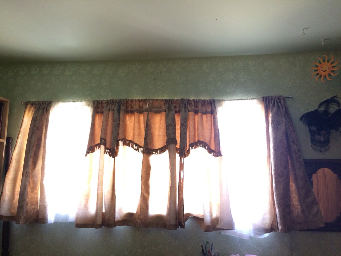 Hem Your Own Curtains for Cheap!