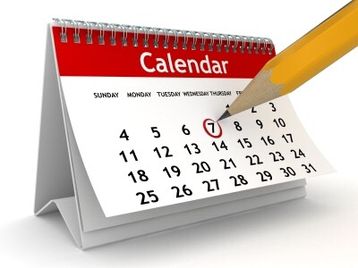 First things first, learn your schedule. Mark which days you have something special planned like a sport. It will help you learn which days work best for your cleaning.
