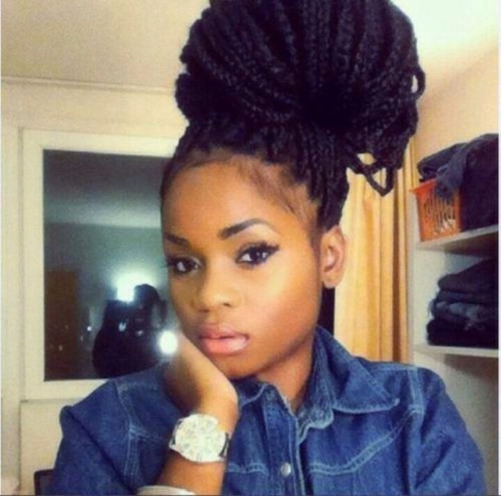 11.) get box braids They can actually make your hair grow and I've heard from a friend of mines who got box braids and took 5,000 mcg of biotin her hair grew like crazy