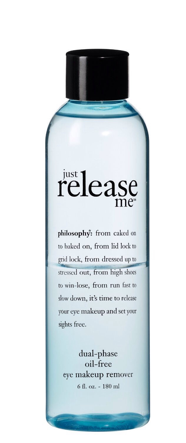 Philosophy Just Release Me Dual Phase Oil Free Makeup Remover $19.00 sephora.com