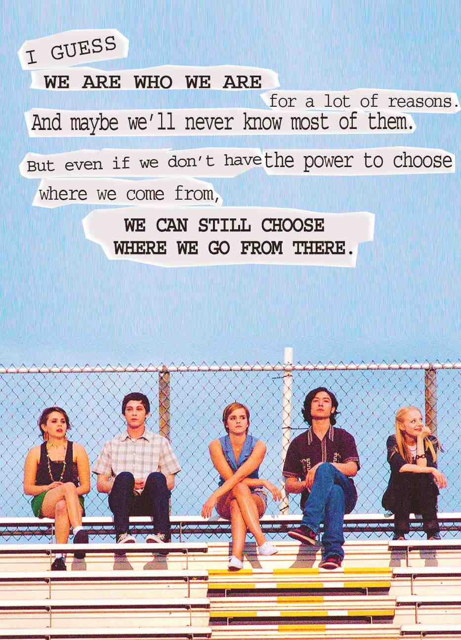 musely the perks of being a wallflower soundtrack and qoutes 😍