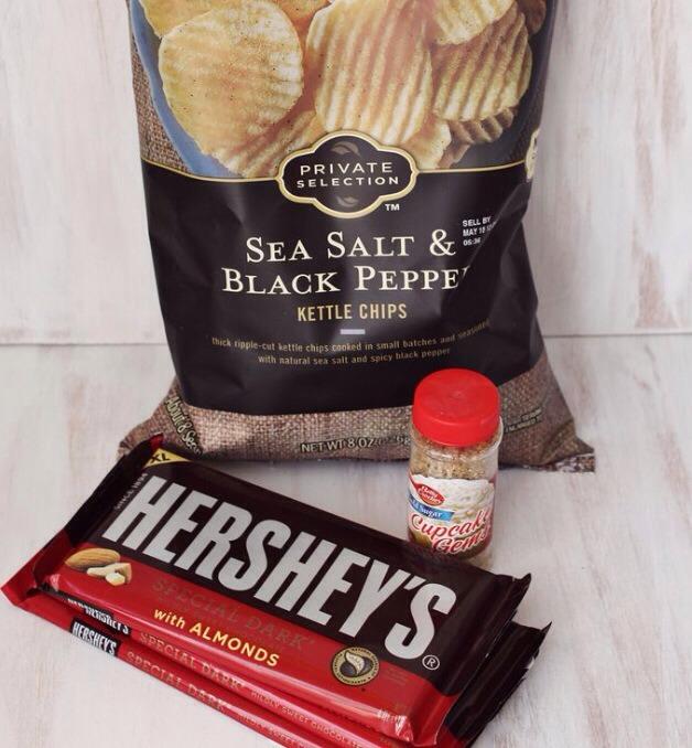 Final set of ingredients used.