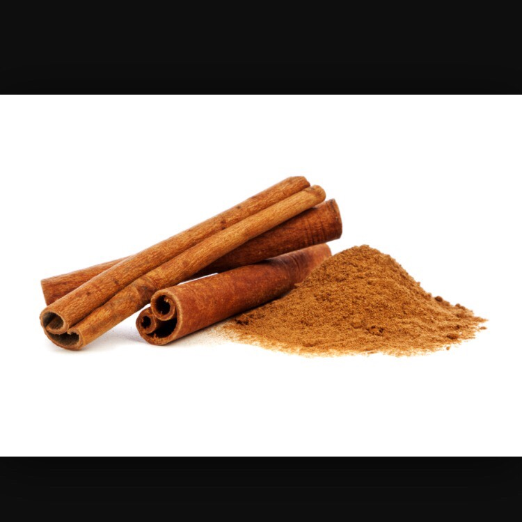 Then you put a day of cinnamon or however much you like. But if you are allergic to cinnamon then you could put vanilla extract in liquid or powder form or if not you don't have to put either one