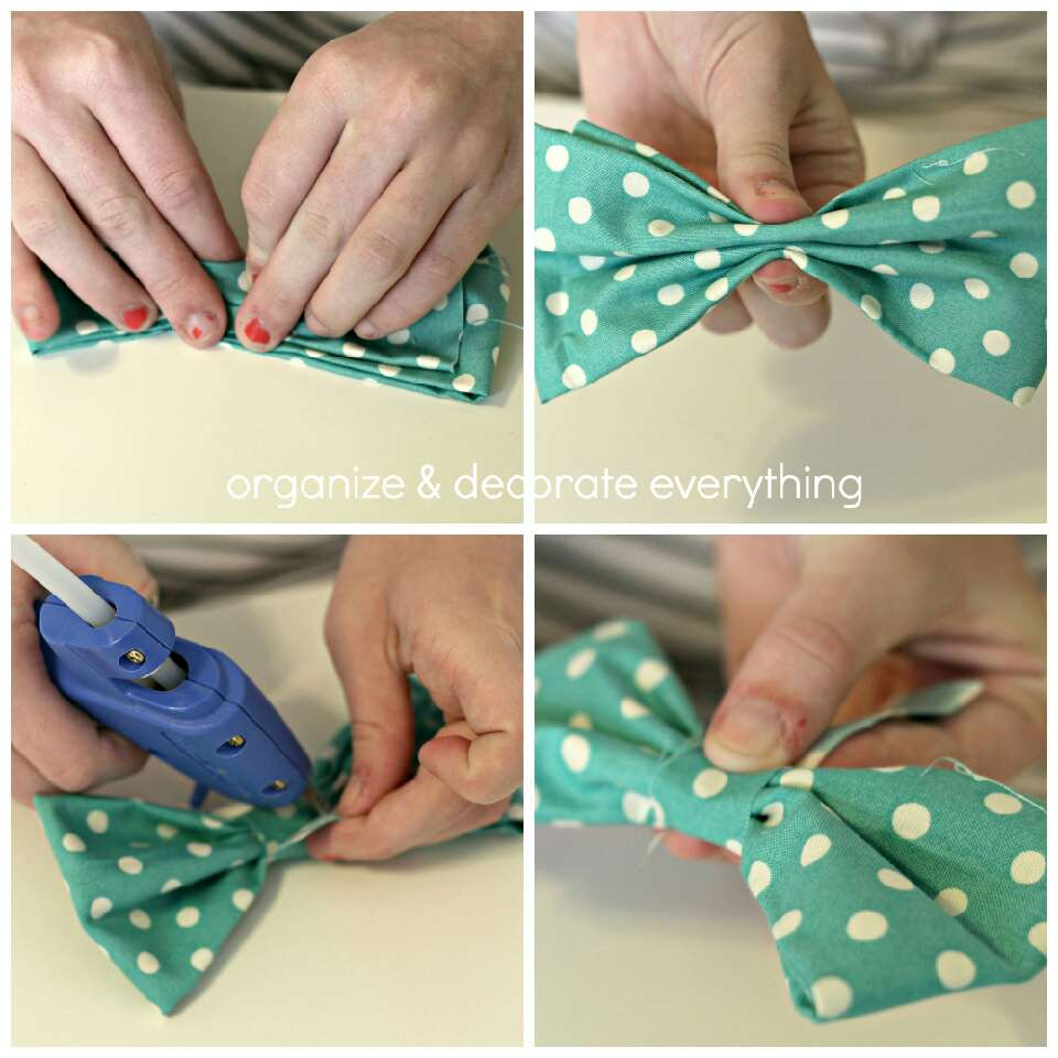 Use an elastic before gluing, or use a clip before or after gluing.